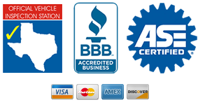 bbb, state inspection, ase certified